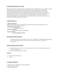 Computer Skills On Resume Sample – Amere