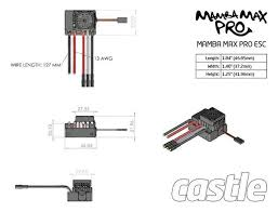 castle sidewinder 3 brushless wiring diagram castle diy wiring castle sidewinder brushless wiring diagram description castle mamba max pro 1 10 w neu castle 1415 2400kv