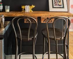 bucket style bar stools irish fifties red saddle tolix with back rustic eames stool cream