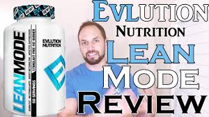 Evlution Nutrition EVL <b>Lean Mode</b> Review (Fast & Simple) - YouTube