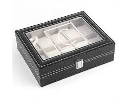 watch box personalized men s watch box engraved watch monogrammed watch box personalized black watch box men s jewelry box watch case for men 10 slot watch