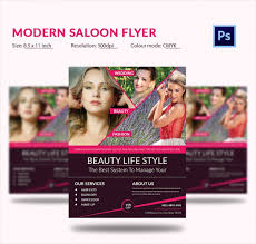 Hair Salon Flyer Templates Beauty And Hair Salon Premium Psd Flyer Template Beauty Salon