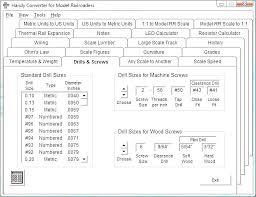 Machine Screw Diameter Chart For External Threads Bolts A