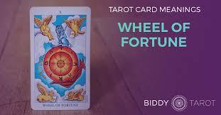 <b>Wheel of Fortune</b> Tarot Card Meanings | Biddy Tarot