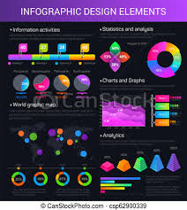 Infogrpaphic Vector Charts Graphs And Diagrams