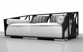latest cool furniture. Scenic White Fabric Chaise Lounge Sofa With Black Wicker Rattan Frames As Well Cool Furniture Also Sales Of Best Cheap Contemporary Latest M