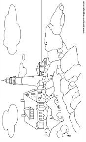 Small Picture Lighthouse Coloring Pages Colouring Pages Lighthouse nebulosabarcom