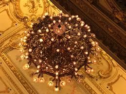 teatro colon chandelier very impressive