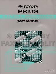 2007 toyota prius wiring diagram manual original 2006 Prius Headlight Wiring Diagram 2002 Prius Wiring Diagram #17