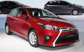 New Look 2014 Toyota Yaris Facelift - motoblitz 1