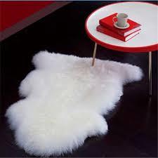 Faux Bearskin Rug Decor Faux Bear Skin Rug With Head Fur Rug White Sheepskin Rug