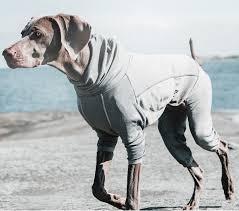 Hurtta Body Warmer Dog Bodysuit Carbon Grey 10s