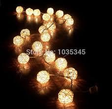ball fairy lights. 5cm 20 storm cream white rattan ball fairy lights ideal wedding christmas party string use