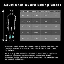 Baseball Shin Guard Size Chart Adidas X Lite Shin Guards