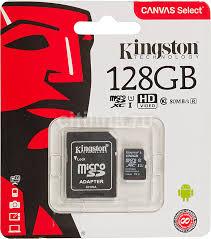 Купить <b>Карта памяти</b> microSDXC UHS-I U1 <b>KINGSTON</b> Canvas ...