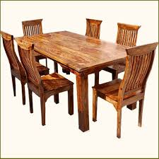terranean eco transitional dining set dine in style with regard to rustic kitchen chairs decor 11