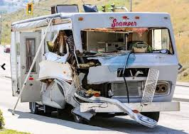 Motorhome brake failure causes three-vehicle accident flipping one ...