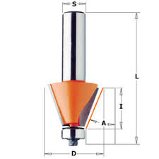 chamfer bit. cmt chamfer bits can cut clean, accurate bevels and chamfers are great for edge work or making perfectly aligned multi-sided containers, bit