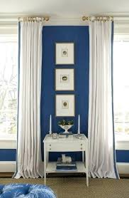 Light Blue And White Curtains Bedroom Royal Curtain Canada – elleroberts