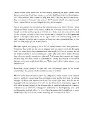 create cover letter online job posting cover letter samples resume template essay sample essay sample