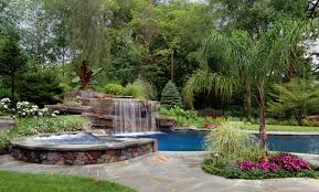 ... Natural stone waterfalls and landscaping ideas Allendale NJ ...
