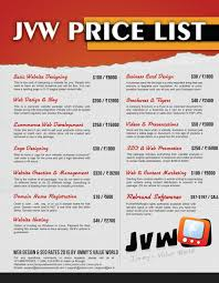 Graphic Design Price List 2016 Pin By Cindy Lumpkin On Graphic Design Basic Website