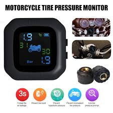 Car Bike <b>Tire Pressure</b> Monitoring System Tyre <b>Gauge</b> High ...