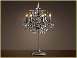 chic chandelier table lamp lamp amusing chandelier table lamp for home chandelier table lamp