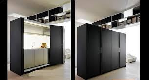 hidden kitchen design. freestanding hidden kitchen design for small spaces decor perk