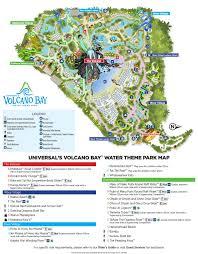 Volcano Volcano Bay Map