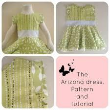 Arizona Girls Dress Pattern