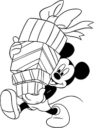 Animations A 2 Z - Coloring pages of Birthday gifts