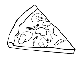 Small Picture Pizza Coloring Page Pizza Pages nebulosabarcom