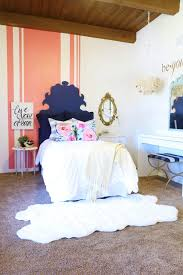 Colorful and Eclectic Teenage Bedroom Makeover