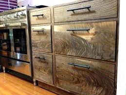 natural walnut kitchen cabinets medium back to work on after a black cupboards and drawers