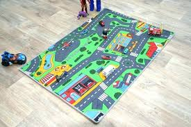 childrens road rug extra large town car play mat
