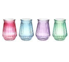 details spring colors glass vase colored vases vintage bottle dz