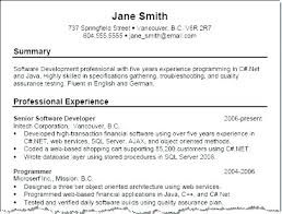 Career Summary Examples Career Summary Examples For Resume Of In How To Write A Professional