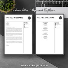 Ms Office Cv Templates Best Selling Ms Office Word Resume Cv Bundle The Rachel Resume With