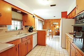 mid century modern galley kitchen. Mid Century Modern Galley Kitchen The Which Is Light Airy And Welcoming This A