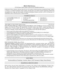 Professional Engineer Resume Samples Mechanical Engineer Resume Examples Emelcotest Com