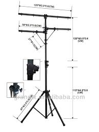 tyl 03 american dj lighting tripod stand with t bar