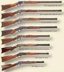 1873 Winchester Rifle Chart My Interests Guns Lever