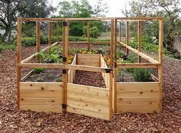 8 x12 complete vegetable garden kit