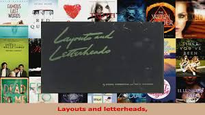 Letterheads Layouts Read Layouts And Letterheads Ebook Online Video Dailymotion