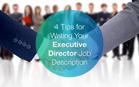 director job description 4 tips for writing your executive director job description donorsearch