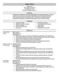 hospitality resume sample entry level hospitality resume templates