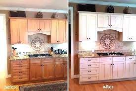 painting kitchen cupboards white before and after painting old cabinets white painting old cabinets medium oak