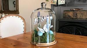 Cloche Design Ideas Spring Butterfly Terrarium Easter Decorating Cloche Ideas