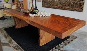 acacia large slab table